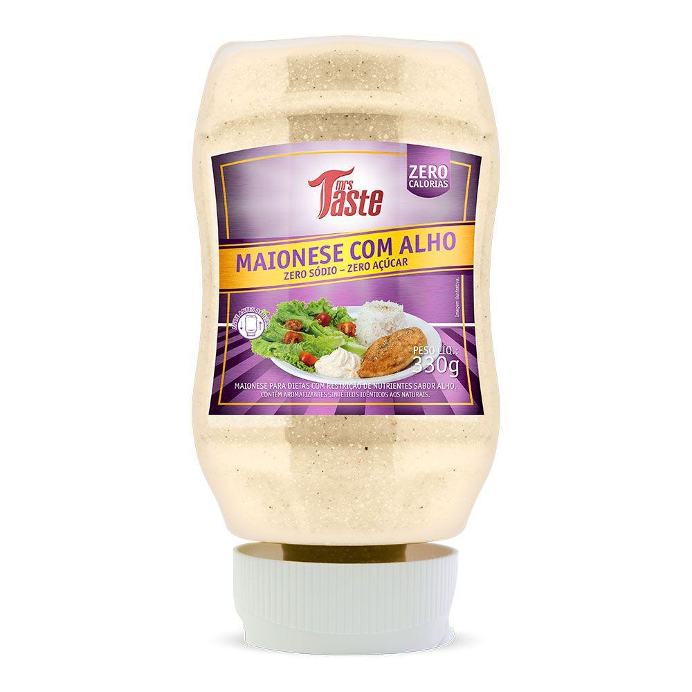 Maionese com Alho Zero Calorias Mrs Taste - 335g