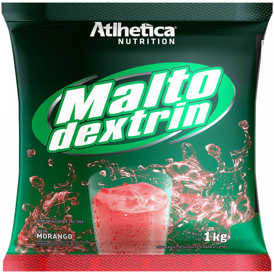 Maltodextrina - Morango - 1KG