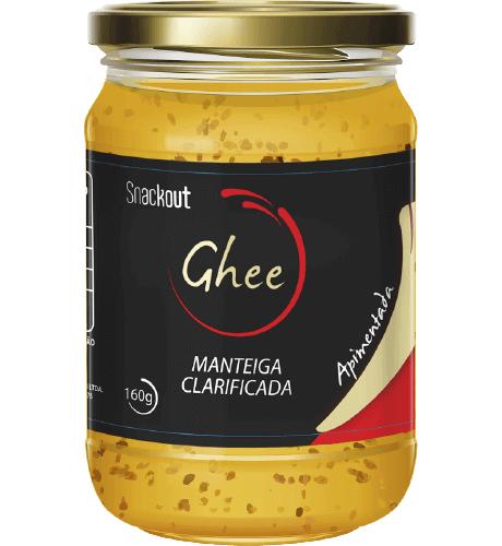 Manteiga GHEE Snackout 160g Apimentada