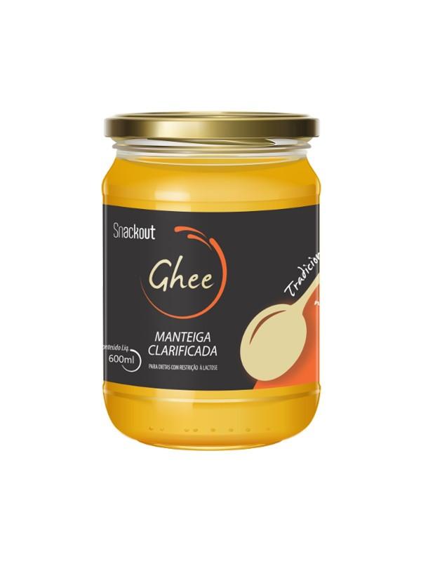 Manteiga GHEE Tradicional (160g) - Snackout