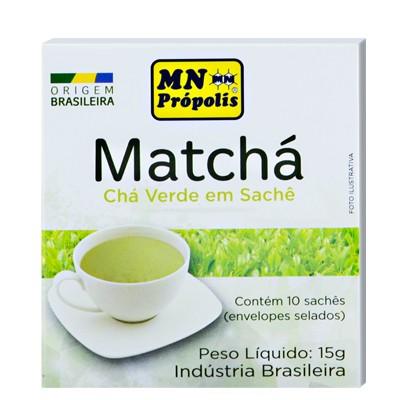 Matchá Chá Verde 10 Sachês (15g) - MN Própolis