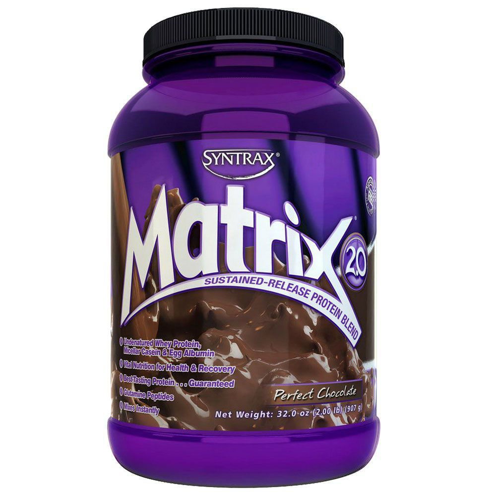 Matrix Whey Protein Blend Perfect Chocolate (907g) - Syntrax