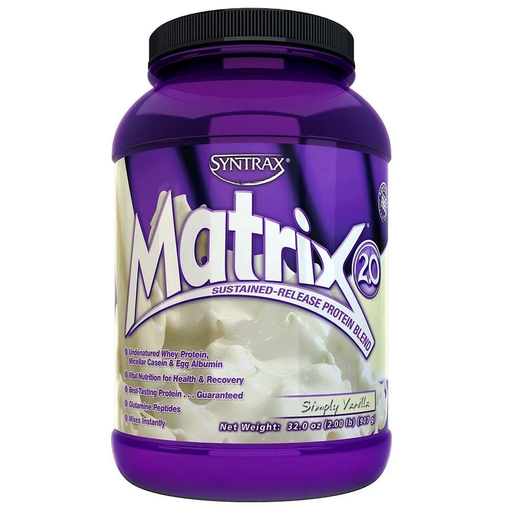 Whey Importado Syntrax Matrix Whey Protein Baunilha  (907g) - Syntrax