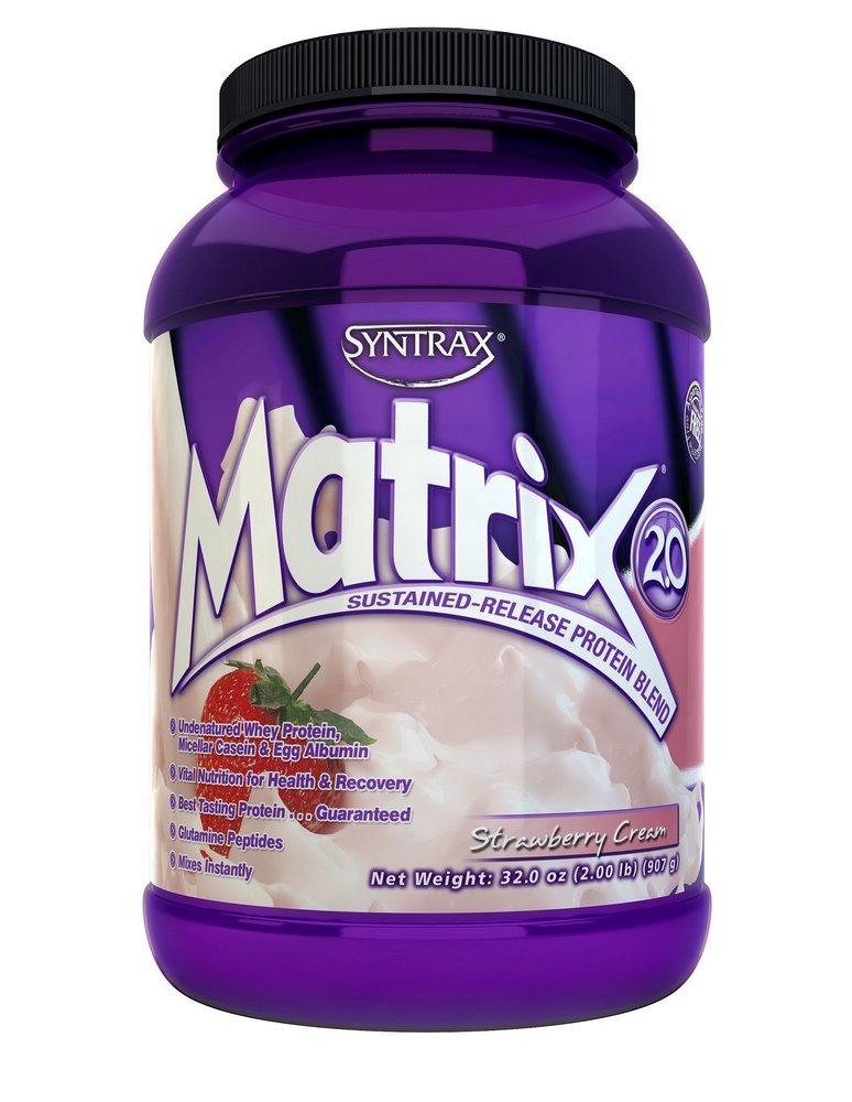 Matrix Whey Protein Blend Strawberry Cream (907g) - Syntrax