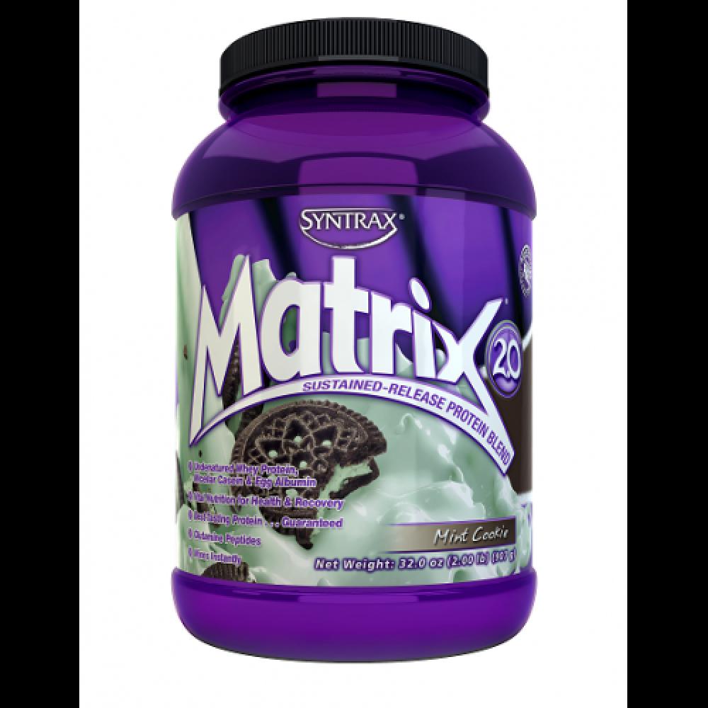 Matrix Whey Protein Mint Cookie (907g) - Syntrax