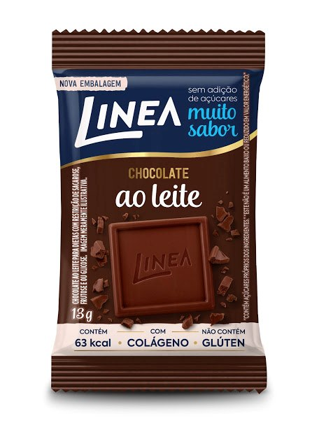 Mini Chocolate Ao Leite (13g) - Linea