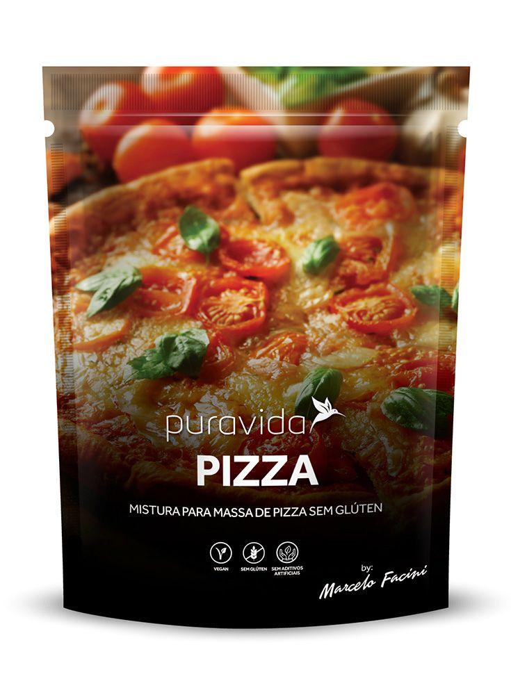 Mistura Para Massa de Pizza  (400g) - PuraVida