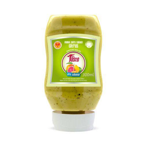 Molho para Salada Sabor Citrus - Mrs Taste - 300ml