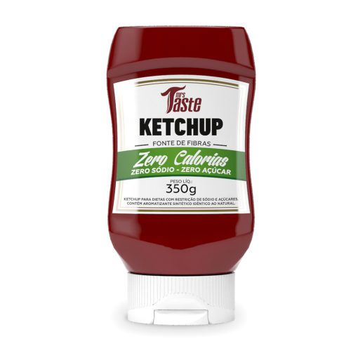 Molho Zero Ketchup - Mrs Taste - 350g