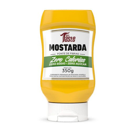 Molho Zero Mostarda Mrs Taste - 350g