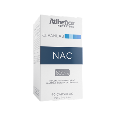 CLEANLAB NAC (MELHORA IMUNIDADE) - ATLHETICA NUTRITION