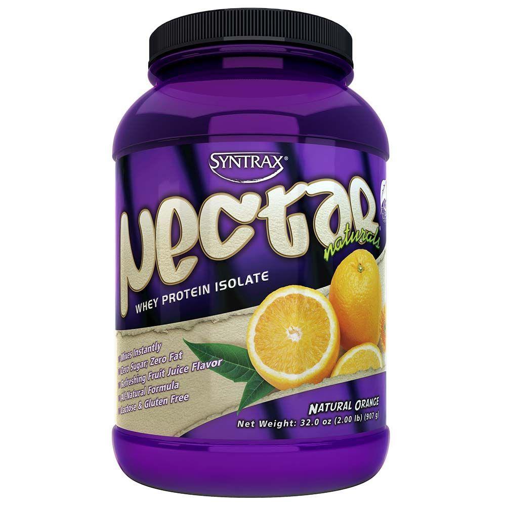 Nectar Whey Protein Isolado Laranja  ZERO CARBO (907g) - Syntrax