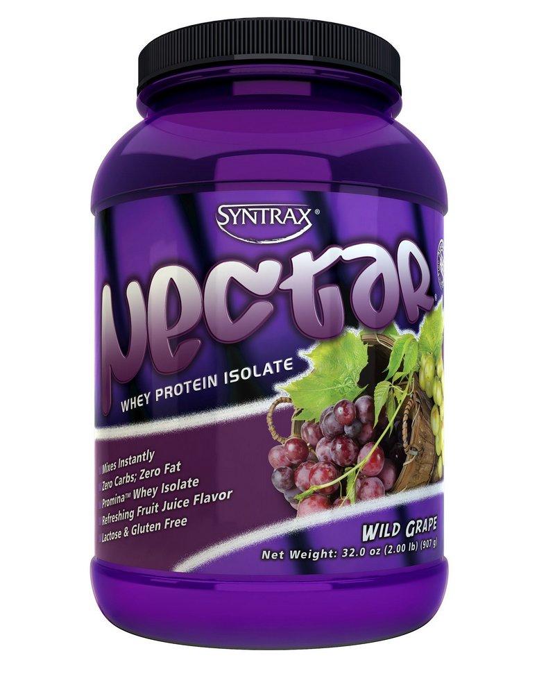 Nectar Whey Protein Isolado Uva Wild Grape (907g) - Syntrax