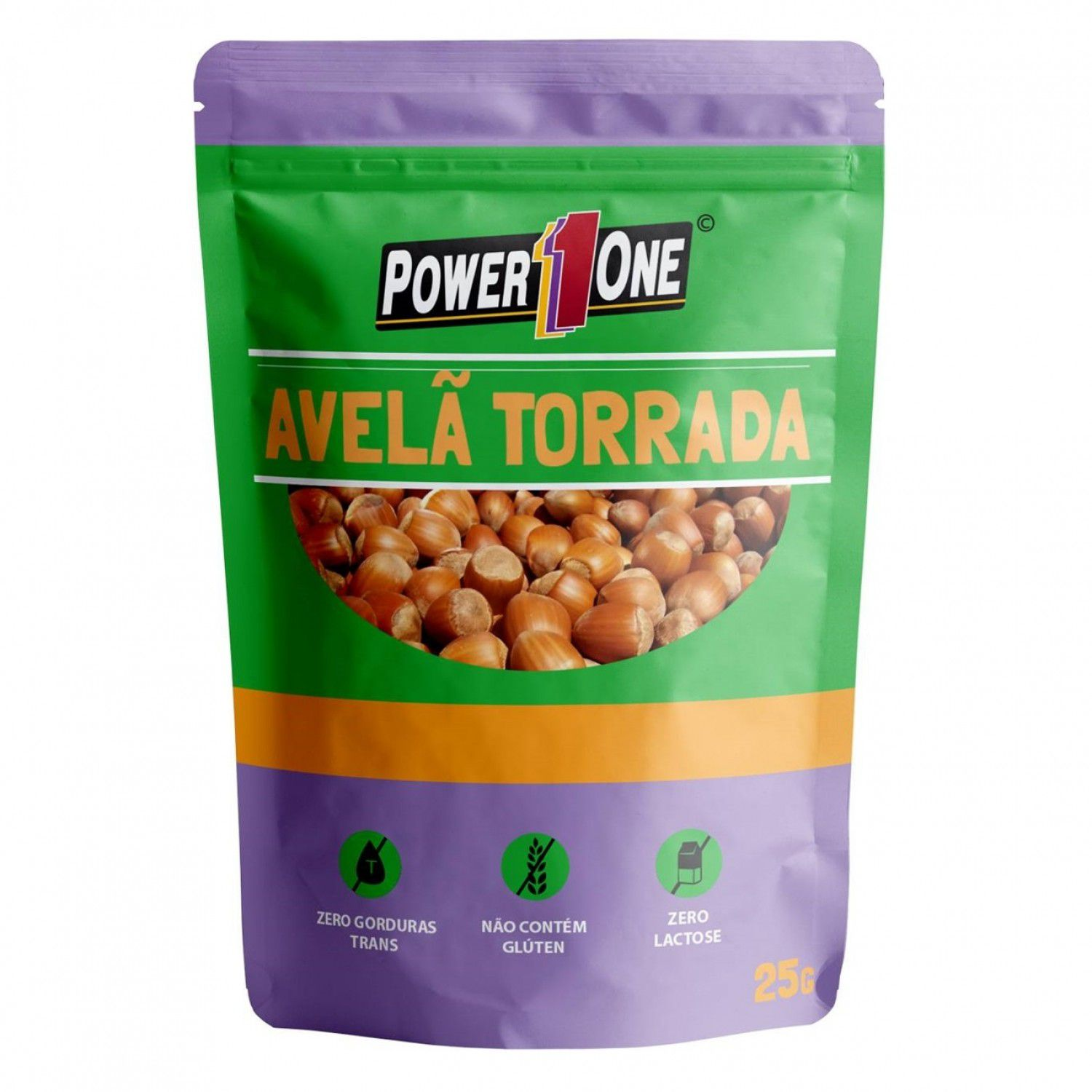 Nuts Avelã Torrada (25g) - Power1One