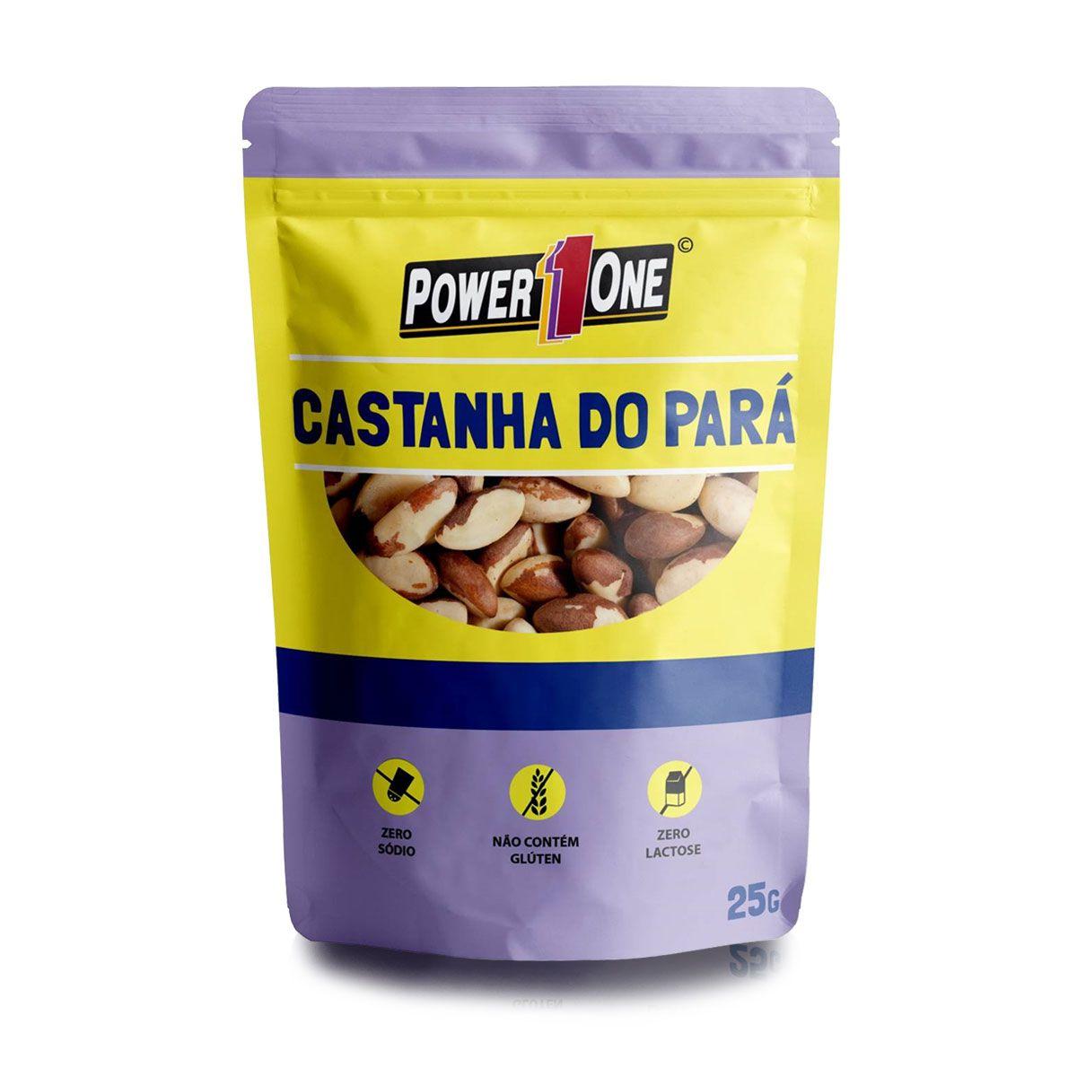 Nuts Castanha do Pará 25g - Power One