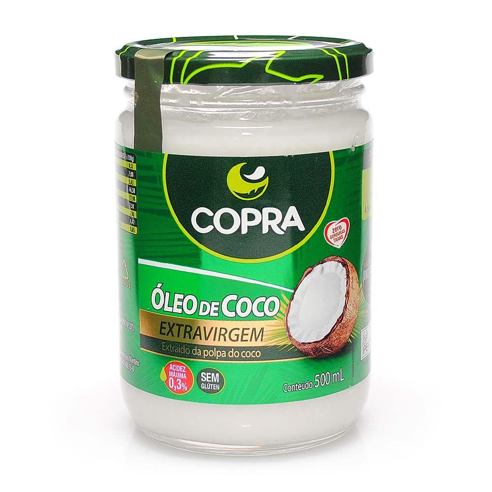 Óleo de Coco Extravirgem (500ml) - Copra