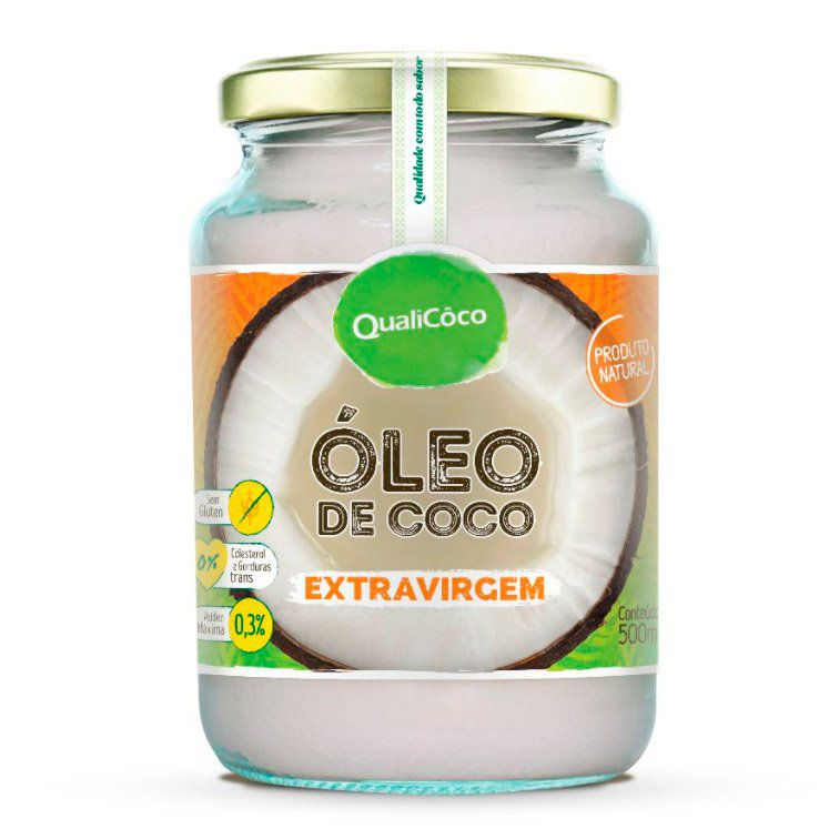 Óleo de Coco Extravirgem (500ml) QualiCoco