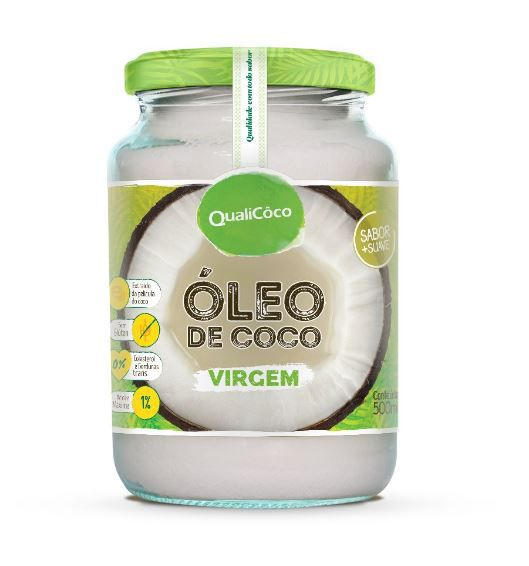 Óleo de Coco Virgem - 500ml - QualiCôco