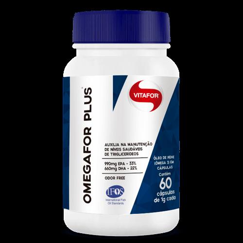 OFERTA: Omega 3 Omegafor Plus (60 Cápsulas) - VitaFor