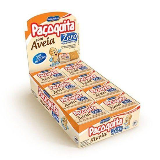 Paçoca Caixa - Paçoquita Com Aveia Zero Açúcar 24 unidades