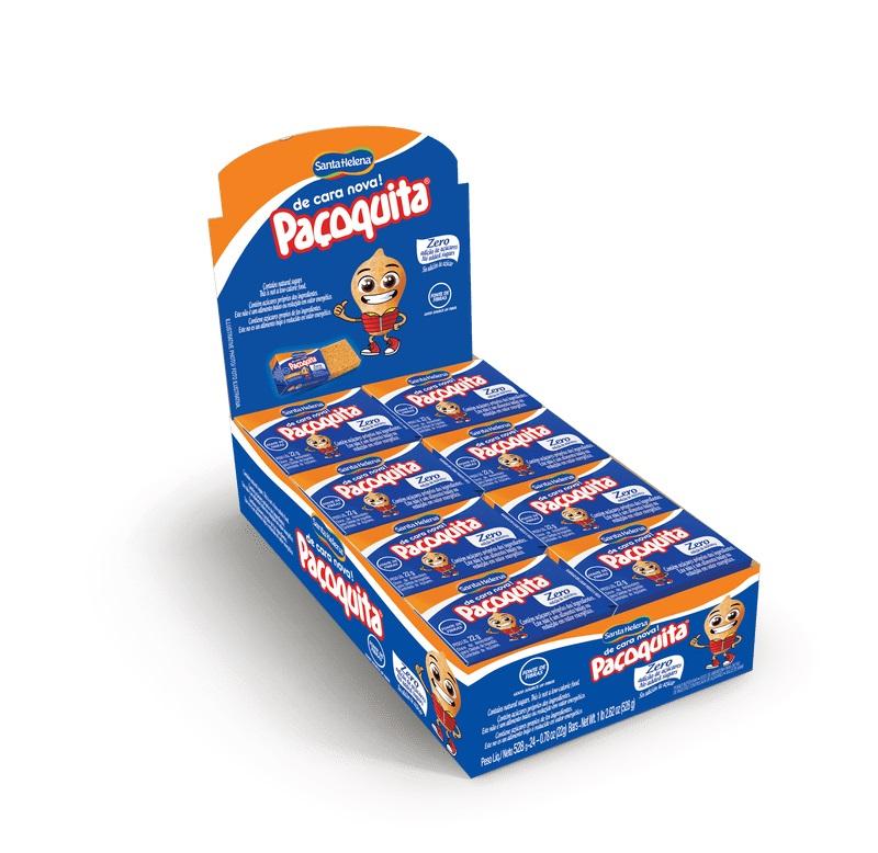 Paçoca Caixa - Paçoquita Diet 24 unidades