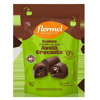 Pacote 6 unidades Bombom Avelã Crocante  (90g) - Flormel
