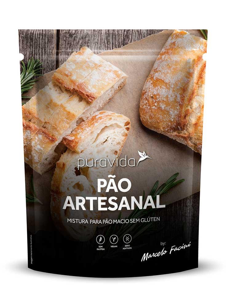Mistura Para Pão Artesanal  (350g) - PuraVida
