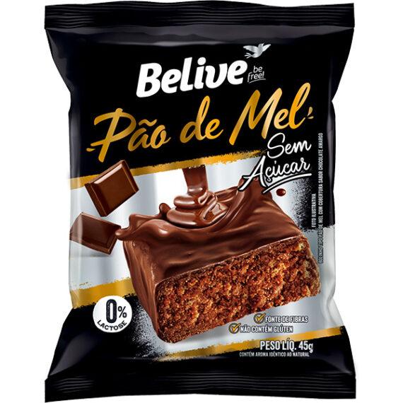 PÃO DE MEL SEM AÇÚCAR (45g) - BELIVE
