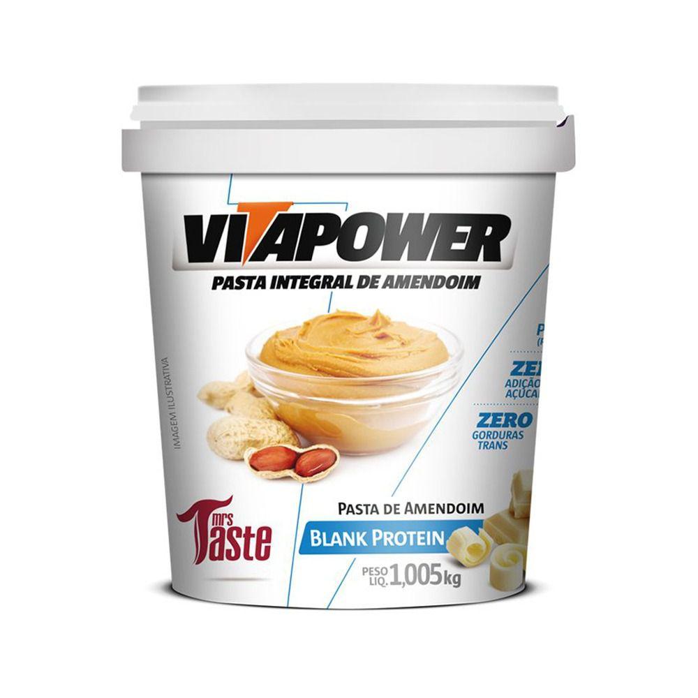 Pasta de Amendoim Blank Protein (1,005kg) - VitaPower