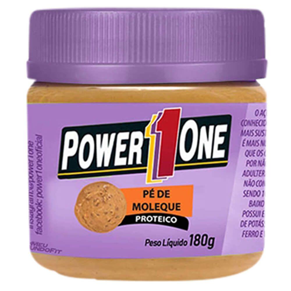 Pasta de Amendoim Pé de Moleque Proteico (180g) - Power1one