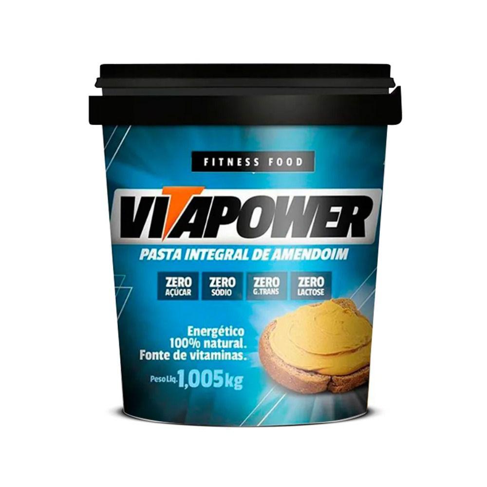 Pasta Integral de Amendoim (1,005kg) - VitaPower