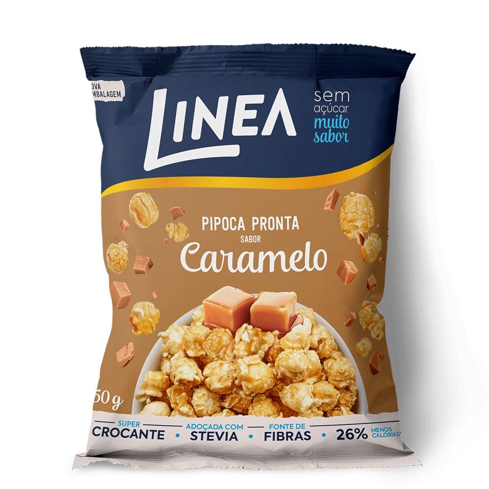 Pipoca Pronta Sabor Caramelo (50g) - Linea