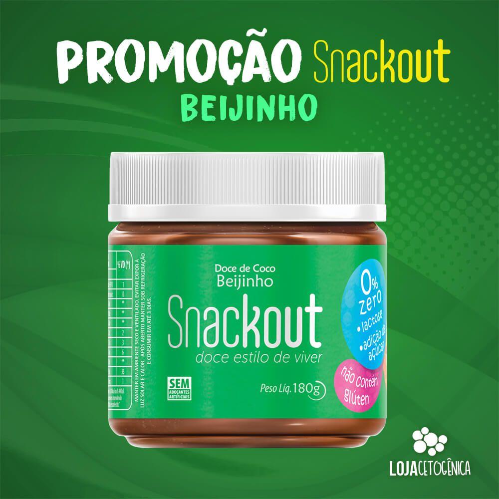 PROMOÇÃO: Doce Snackout BEIJINHO - 180g