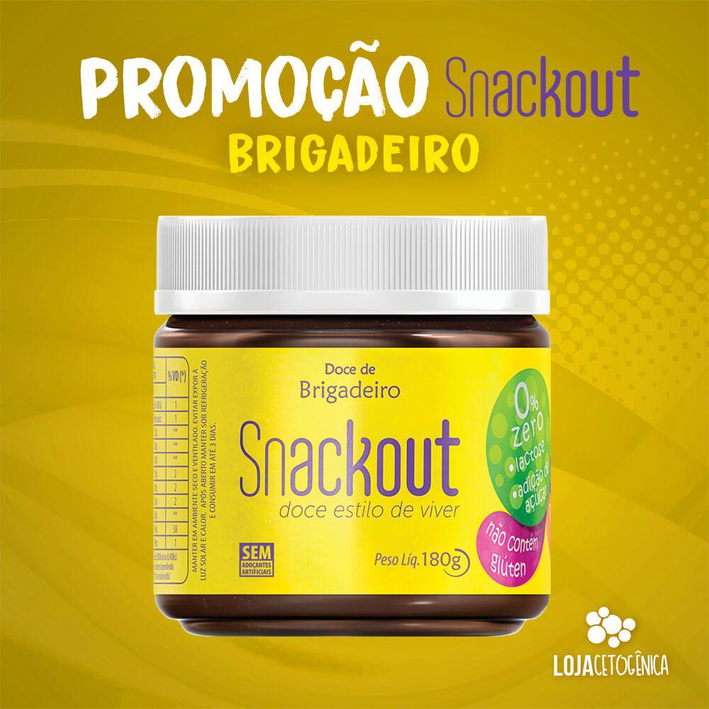 PROMOÇÃO: Doce Snackout BRIGADEIRO - 180g