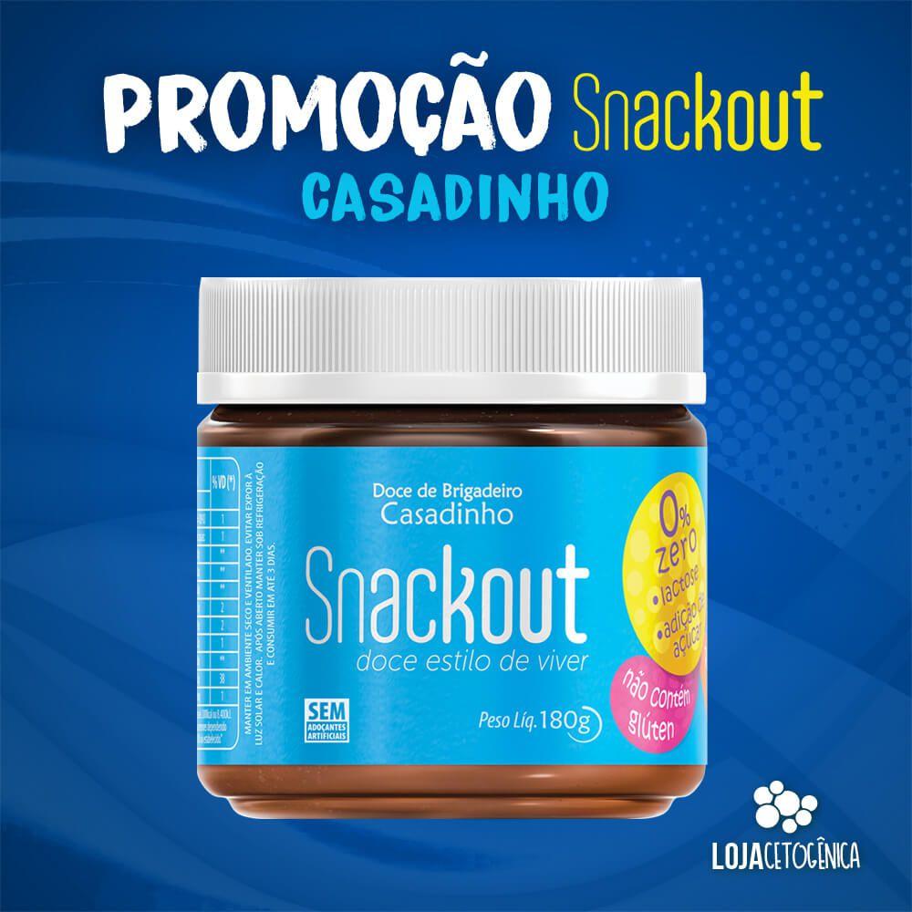 PROMOÇÃO: Doce Snackout CASADINHO - 180g
