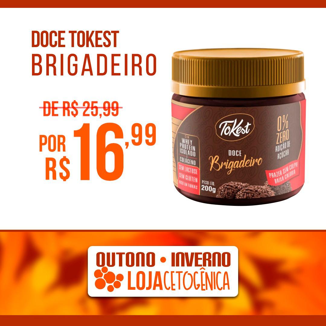 PROMOÇÃO: Doce Tokest Brigadeiro (200g)