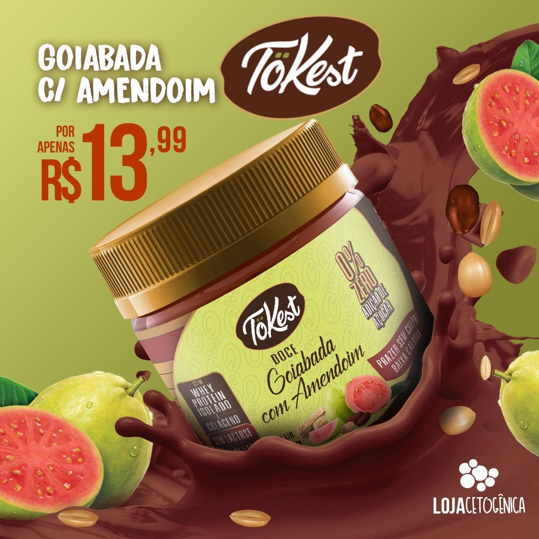 PROMOÇÃO: Doce Tokest Goiabada com Amendoim (200g)