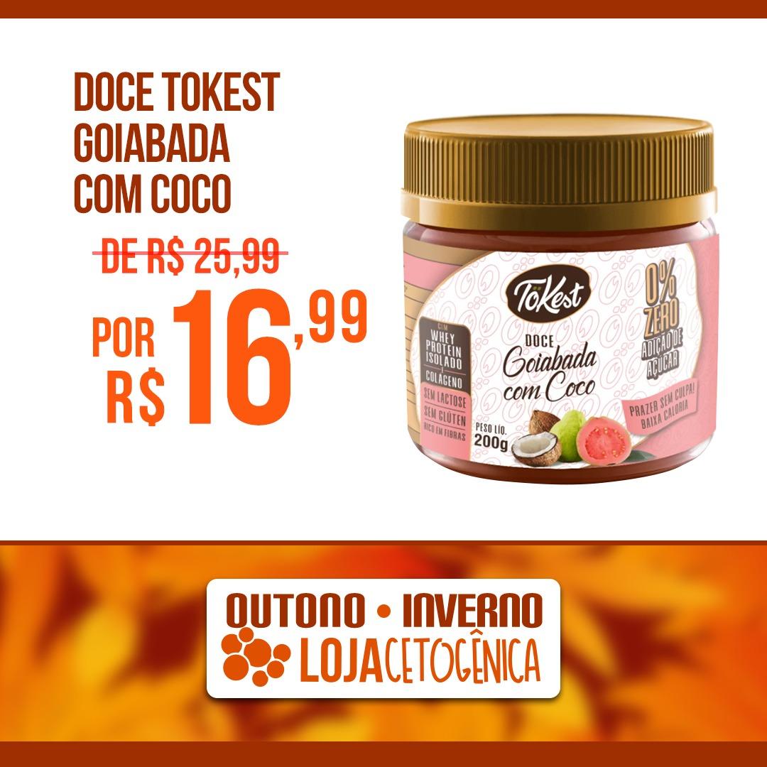 PROMOÇÃO: Doce Tokest Goiabada com Coco (200g)