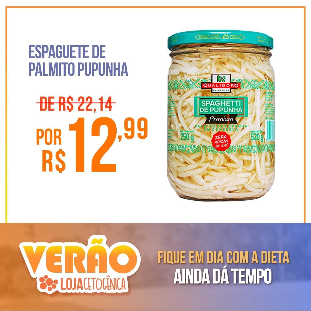 PROMOÇÃO: Espaguete de Palmito Pupunha Premium Zero (520g) - Qualidoro