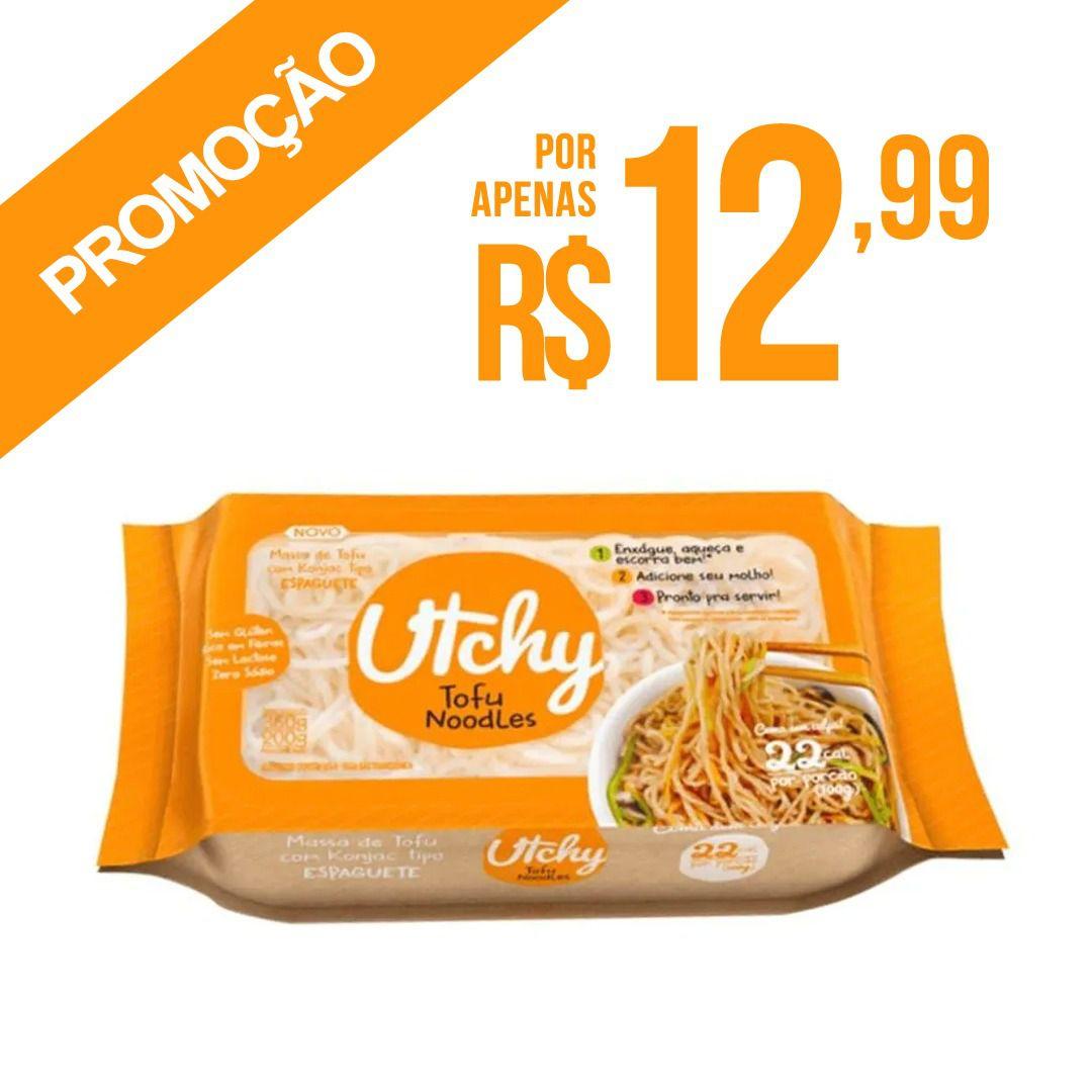PROMOÇÃO: Espaguete Macarrão Utchy Konjac - 200g - Hyde Alimentos