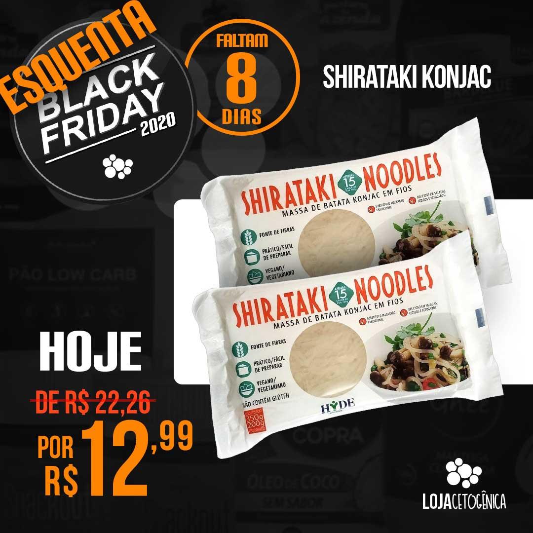 PROMOÇÃO: Macarrão Noodles Shirataki Konjac - 200g - Hyde Alimentos