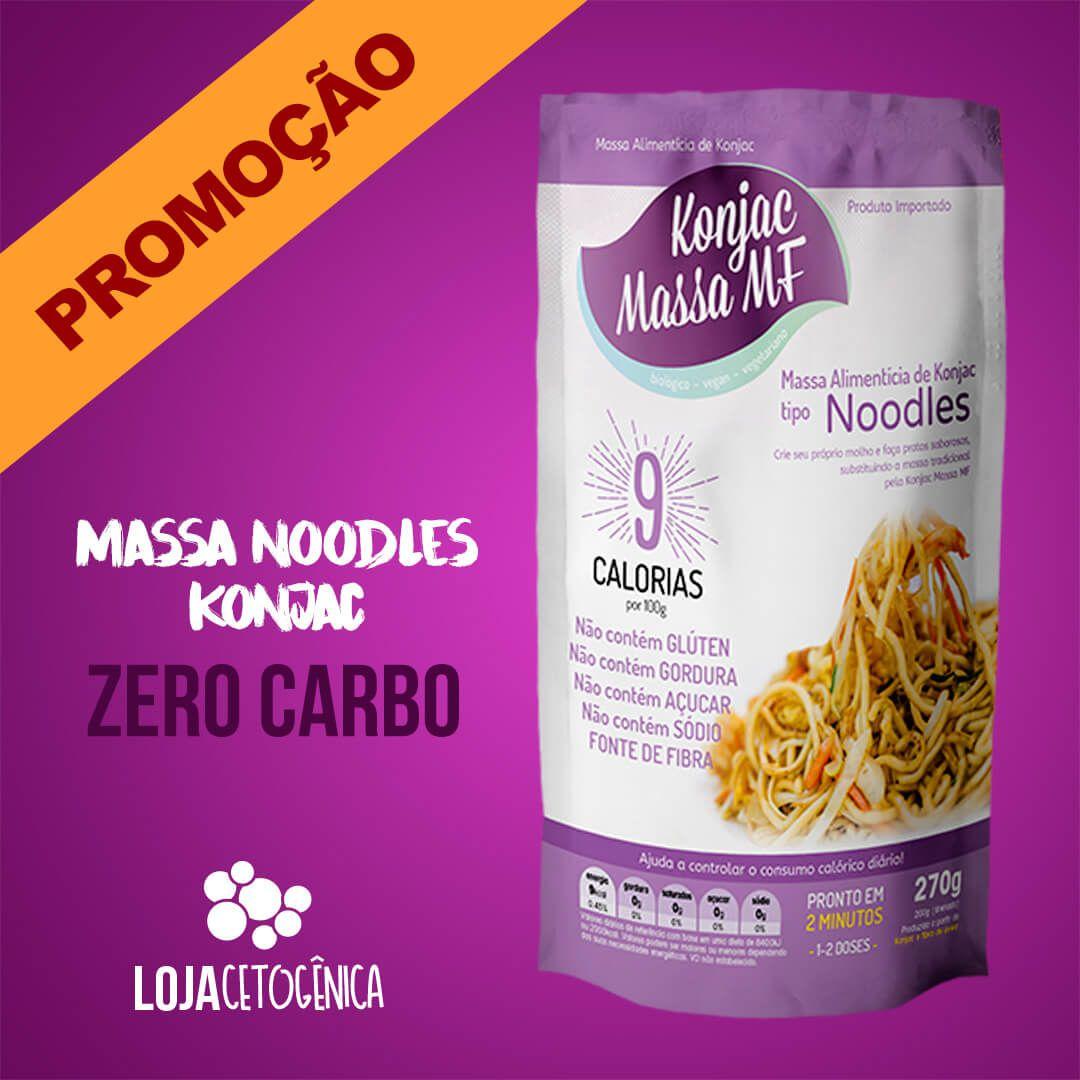 PROMOÇÃO: Noodles Macarrão Konjac Zero Carbo - 270g - Massa MF