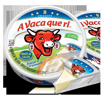 Queijo Fundido Suave e Cremoso (128g) - A Vaca Que Ri