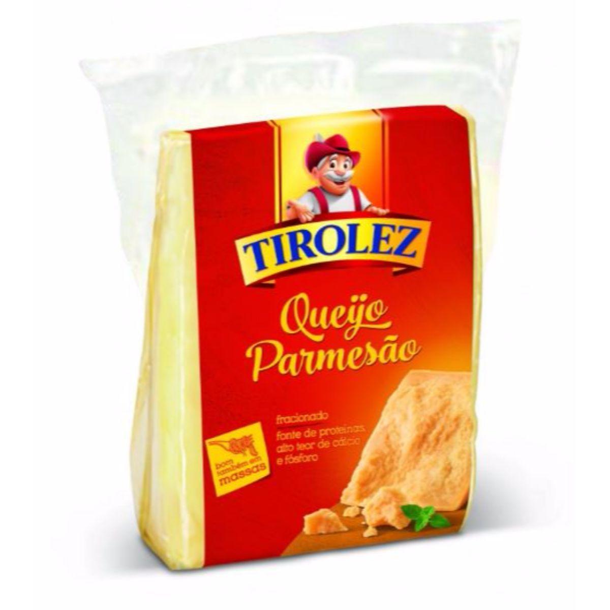 Queijo Parmesão Fracionado (245g) - Tirolez