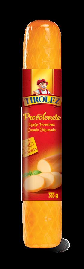 Queijo Provolone Curado Defumado (335g) - Tirolez