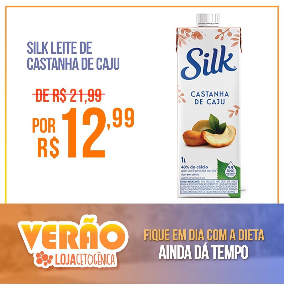 Silk Leite de Amêndoas com Castanha de Caju (1 Litro) - Danone