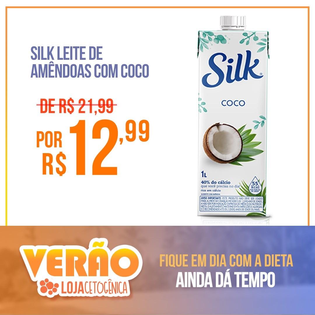 Silk Leite de Amêndoas com Coco (1 Litro) - Danone