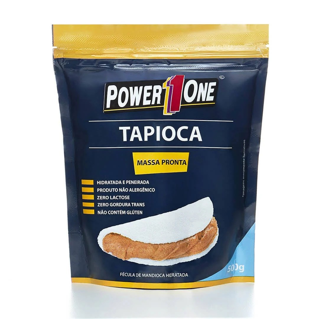 Tapioca Massa Pronta (500g) - Power1One