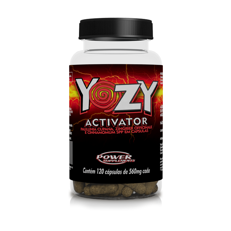 Termogênico Emagrecedor Yozy Activador (120 Cápsulas) - Power Supplements