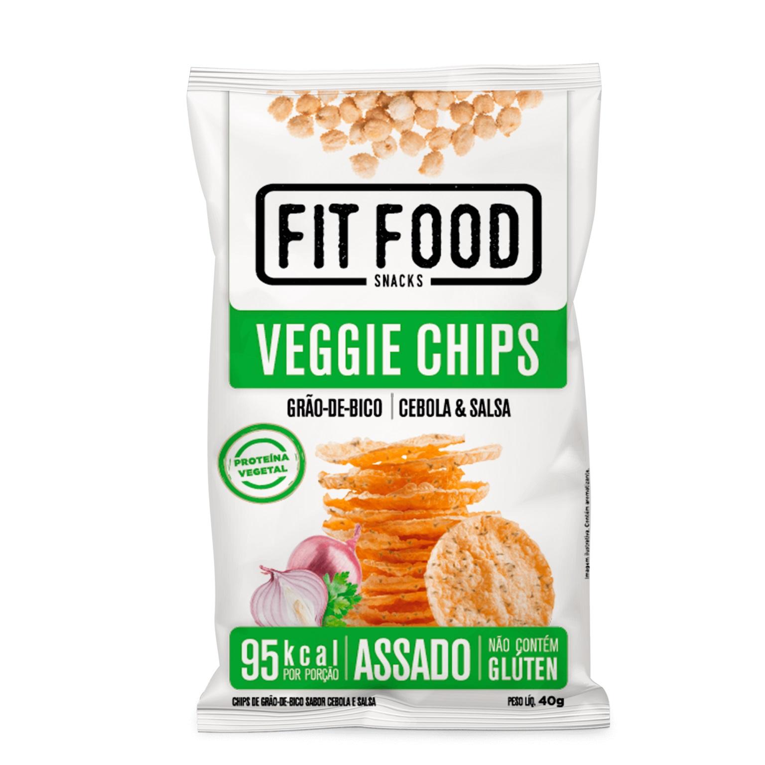 Veggie Chips Cebola & Salsa (40g) - Fit Food